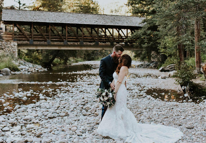 Manor Vail Lodge Wedding Bridge