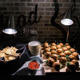 Catered Events_Burgers and Fries